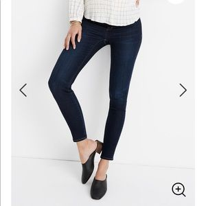 NEW • Madewell • Side Panel Maternity Skinny Jeans